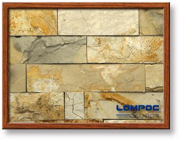 "Click for a Large Photo of Lompoc Country 4"" Seamface Strip Thin Veneer"